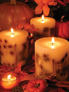 Claire Burke ® Botanical Candles~~~Love candles
