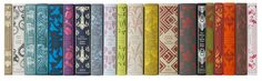 Coralie Bickford-Smith , senior cover designer at Penguin Books, combined my love for classic books, fabric and art with her lovely desig. Penguin Classics, Penguin Clothbound Classics, Edith Holden, Club Monaco, Buch Design, 2d Design, Brand Design, Layout Design, Design Elements