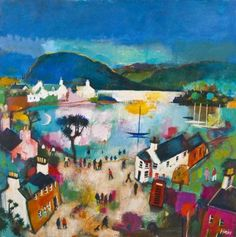 Evening Reflections, Plockton - Rob Hain