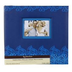 <div>This beautiful scrapbook is perfect for any occasion—just add your own creative touches and...