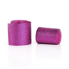 Notice: The design of the ribbon is glitter. All the ribbons are designed by us. The material is high quality grosgrain ribbon. Multi-use: You can enjoy your imagination here. These are Great for hair bows, hairbow clips, scrapbooking. Ideal for sewing and craft projects, card, paper crafts,... see more details at https://bestselleroutlets.com/arts-crafts-sewing/crafting/fabric-ribbons/product-review-for-holographic-solid-shiny-glitter-grosgrain-ribbon-3-wide-for-handmade-hai