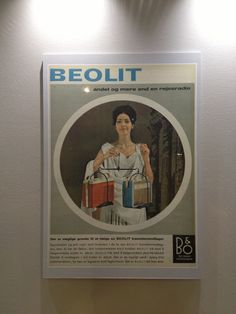 Old Beolit radio add