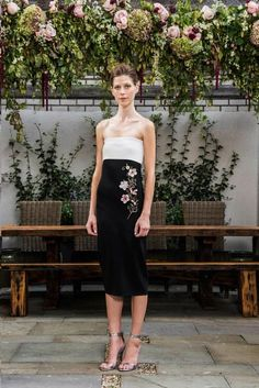 Black, white, and a touch of floral at Sachin & Babi's Spring 2016 collection