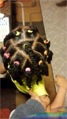 Kids Hairstyles Braids : Easy Hairstyles For Kids Lil Girl Hairstyles, Girls Natural Hairstyles, Natural Hairstyles For Kids, Kids Braided Hairstyles, Girl Haircuts, Hairstyles Haircuts, Trendy Hairstyles, Female Hairstyles, Kids Natural Hair