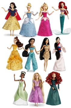 New 2013 Disney Store Dolls