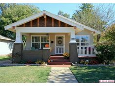Love Craftsman Bungalows And Front Porches