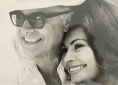 The magnificent, touching, and gorgeous love story of Sophia Loren and Carlo Ponti {great love story № 17 | carlo ponti & sophia loren} by {this is glamorous}, via Flickr