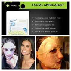 It Works Global Facial Applicator!  Great for times you cannot get to the spa!   wrapwithmarymc.com