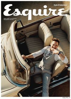 Robert Downey Jr. Stars in Cheeky Photo Shoot for Esquire UK November 2014 Issue image Robert Downey Jr Esquire UK November 2014 004