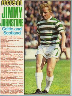 Jimmy Jinky Johnstone Scottish Footballer | The Bhoy in the Picture: Jinky