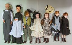 Anne of Green Gables dolls