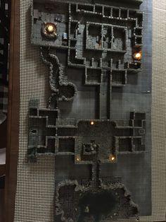 terrain forge dwarven warhammer table prison overhead pathfinder dnd lit