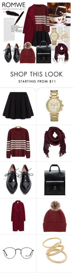 """""""Untitled #176"""" by denisa-marcu ❤ liked on Polyvore featuring Polo Ralph Lauren, Michael Kors, Ulla Johnson, Jeffrey Campbell, Dr. Martens, Zara, Helen Moore, Ray-Ban and Elizabeth and James"""