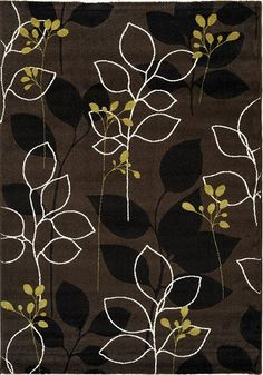 Safi Brown Magical Forest Area Rug