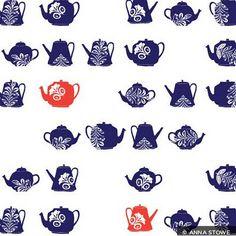 Anna Stowe via print & pattern
