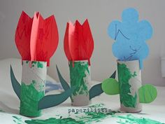 Spring Craft Projects for Toddlers | Toddler Times