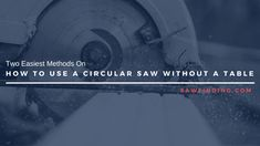 How to Use A Circular Saw Without A Table Table Saw, A Table, Pressure Treated Plywood, Plywood Board, Along The Lines, Circular Saw, Wood Screws, Tape Measure, Being Used