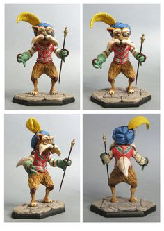 labyrinth Sir Didymus sculpture colors by yotaro-sculpts on DeviantArt David Bowie Labyrinth, Labyrinth Movie, Ludo Labyrinth, Jim Henson Labyrinth, Biscuit, Labrynth, Goblin King, The Dark Crystal, Fantasy Movies