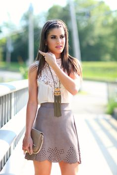 Super Vaidosa » Blog Archive » Look do dia: Nude feel