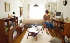 room decor like home cafe. Diy Interior, Room Interior, Interior Design, Japanese Apartment, Small Room Decor, Studio Living, Casa Real, Home Room Design, Loft