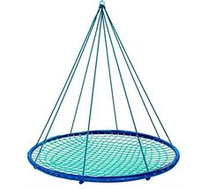 Sky Island Hanging Platform Swing for Girls #TeenGirls #TeenGifts  This webbed platform swing is a cool gift idea to buy teen girls for their birthday.  Hang it up indoors or outdoors!  It's such a cool addition to their repertoire.