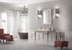 PIASTRELLE ANTHEA, bagno classico ceramica bicottura #ImolaCeramica http://www.imolaceramica.com/it/prodotti/collezione/anthea/