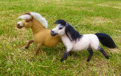 Needle Felted Ponys