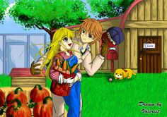 Harvestmoon Claire x Gray by Valcristsan on DeviantArt Harvestmoon Claire x Gray by Valcristsan on DeviantArt Harvest Moon: Claire x Gray by ~Valcristsan on deviantART<br> American Girl Doll Movies, Fun Sleepover Games, Harvest Moon Game, Mallow Flower, Diy Foto, Rune Factory, Pavilion Design, Architectural Sculpture, Playground Design