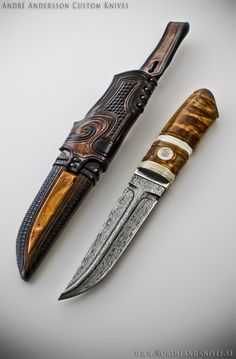 andre andersson knives | André Andersson Custom Damascus Knives - Knives, Daggers, Swords and ...