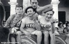 Carnaval en 1954 en San Fco. de Campeche , Campeche Mexico