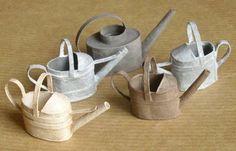 Miniatures et maisons de poupees : jardins de saison Lots of Mini Tutorials on here..