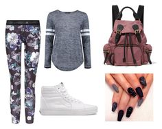 Untitled #14 by silverstars101 on Polyvore featuring Boohoo, adidas, Vans and Burberry