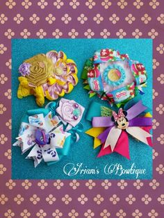 Bows and flower bows
