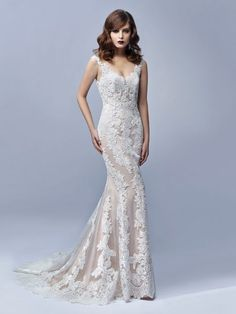Pretty lace gown BT17-1 by Enzoani Beautiful