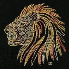 Goldwork Hand Embroidery Kits and Threads. Gold, Silver or Copper Real Metal Hand Embroidery Threads
