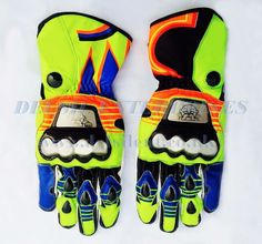 Leading Exporters of Motorbike Leather Garments & Accessories, Leather Fashion Garments & Bags and all type of Sports Wears. Moto Gp 2017, Motorbike Leathers, Vr46, Motorcycle Gloves, Atv Parts, Valentino Rossi, Sport Wear, Leather Gloves, Cowhide Leather