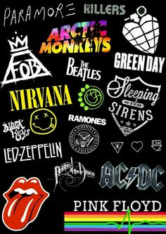 All of my Fav Alternatives. The Effective Pictures We Offer You About Musical Band quotes A quality picture can tell you many things. You can find the most beautiful pictures that can be presented to Emo Wallpaper, Aesthetic Iphone Wallpaper, Aesthetic Wallpapers, Rock Band Posters, Rock Band Logos, Band Wallpapers, Cute Wallpapers, Music Collage, Hypebeast Wallpaper