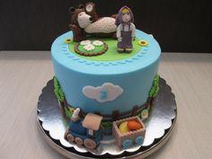 Masha and the Bear - Cake by sansil