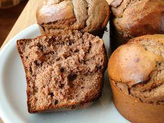 Muffins à la farine de châtaignes Testé : très bon !
