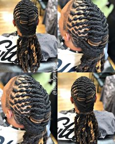 Loc Maintenance & Freestyle‼️🤗🤗Book your next appointment with Neek‼️ Click the link in bio! Providing quality loc maintenance and styling! Cornrow Styles For Men, Men Dread Styles, Mens Dreadlock Styles, Dreads Styles, Boy Braids Hairstyles, Dreadlock Hairstyles For Men, Black Men Hairstyles, Cool Hairstyles, Extensions Ombre