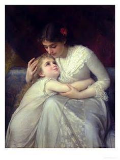 Maternal Affection  by Emile Munier
