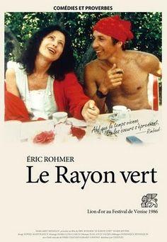 497. Le Rayon Vert d'Eric Rohmer avec Marie Rivière. 1986