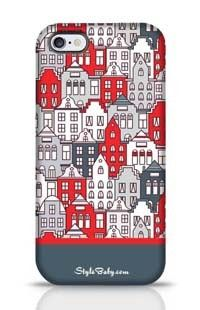 Netherlands Houses Set Apple iPhone 6 Plus Phone Case
