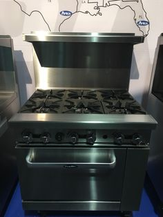 """New 36"""" Range 6 Burners With 1 Full Standard Oven Stove  Nat Gas Free Liftgate · $1,371.00 Gas Range Top, 36 Range, Stove Oven, Kitchen Appliances, Lp, Natural, Free, Diy Kitchen Appliances, Home Appliances"""