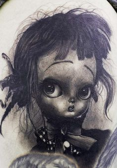 Tattoo Artist - Tye Harris - Cartoon tattoo