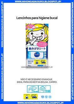 Lencinhos para higiene bucal