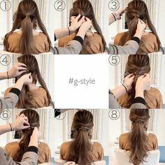 Gendai hairstyle hair tutorial