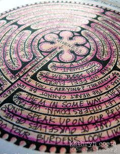 Labyrinth Journal Exercise - Stage Three of The Great Round