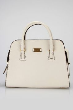 White structured bag that I would never be able to keep clean