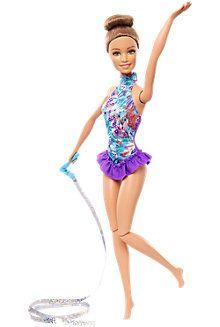 Barbie® Ribbon Gymnast Doll - Brunette